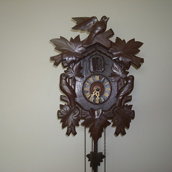 Antique German Cuckoo Clock - Clocks