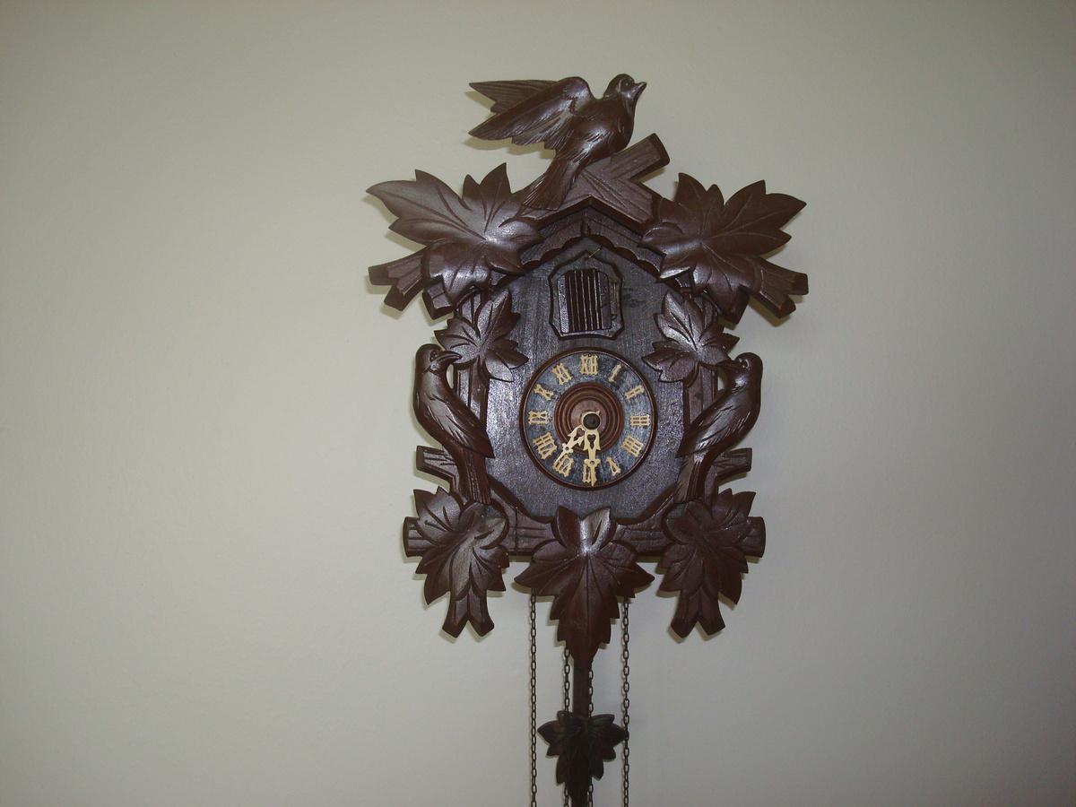 Antique German Cuckoo Clocks