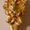 Mr Lion Brooch