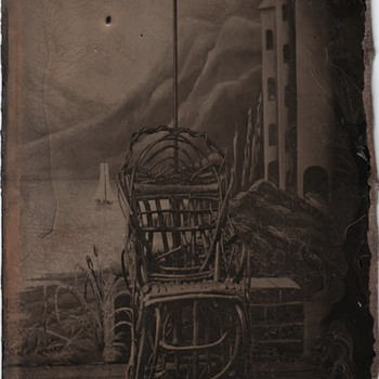 Tintype Studio Tintype (The Painted Backdrop)
