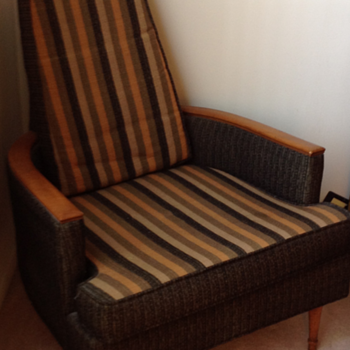 Karpen mid century chair