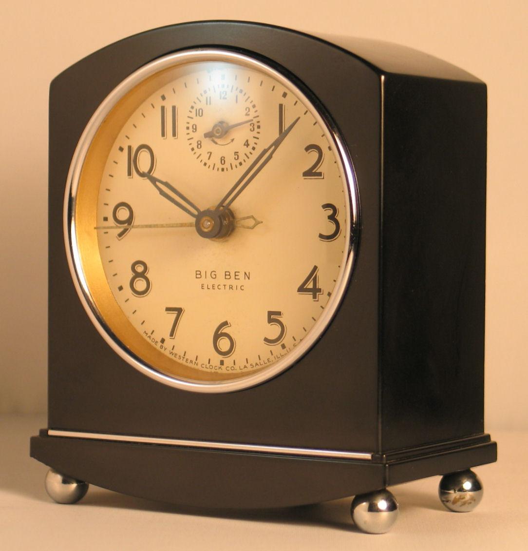 Electric Alarm Clock ~ Westclox big ben electric alarm clock collectors weekly