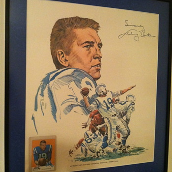 Johnny Unitas - Golden Arm print