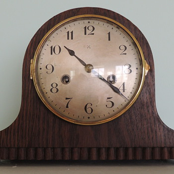 H.A.C. Mantel Clock - MADE IN WURTTEMBERG - Clocks