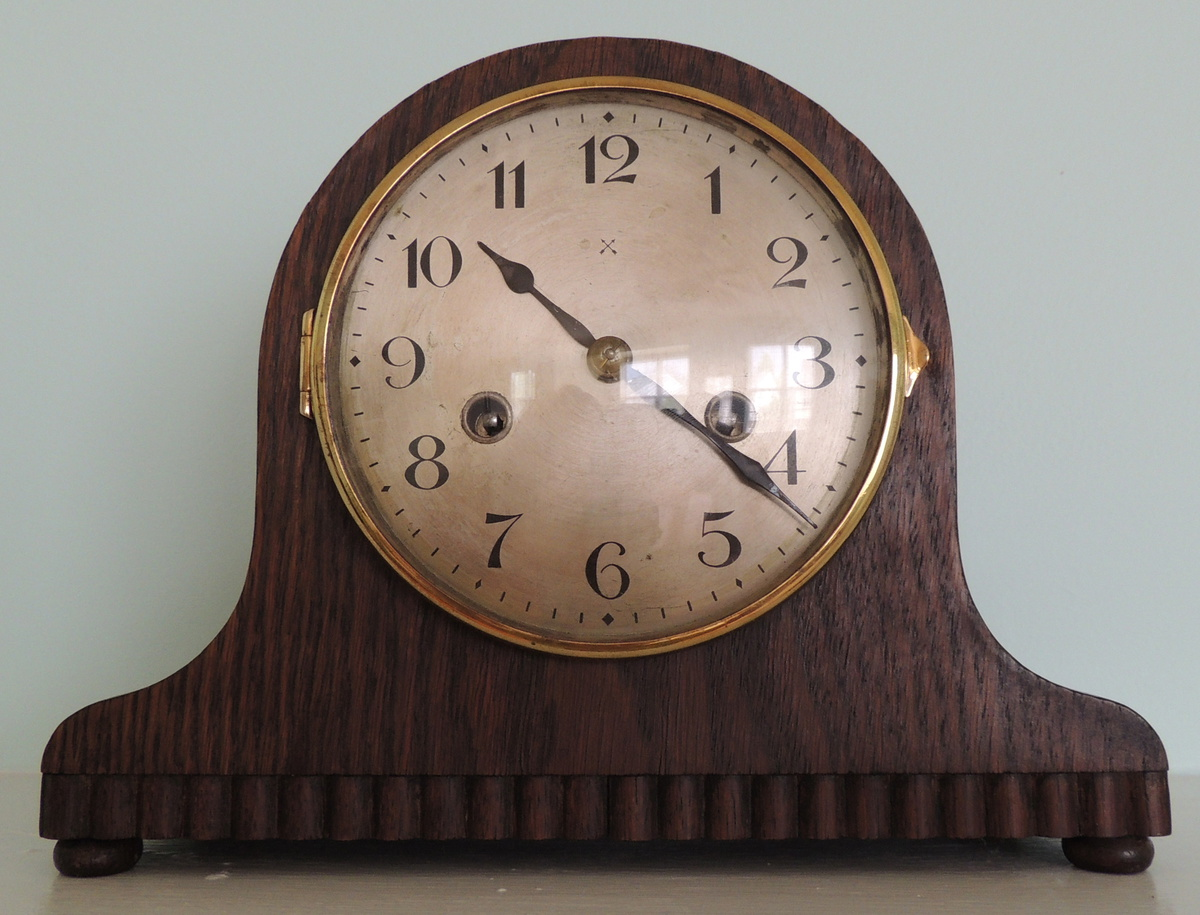 H A C Mantel Clock Made In Wurttemberg Collectors Weekly