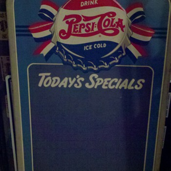 Pepsi Cola Chalkboard - Signs