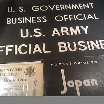 WWII US Army signs
