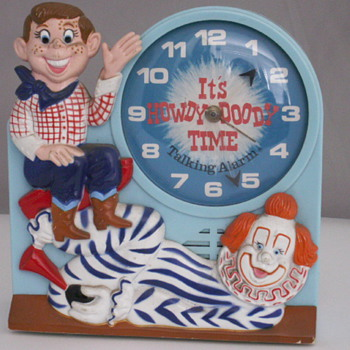 It&#039;s Howdy Doody Time - Clocks