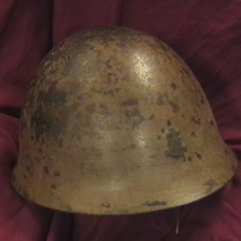 WW II Imperial Japanese Marine Helmet