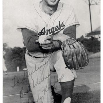 Sandy Koufax Autographed Picture