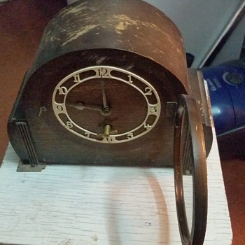 Old clock and a mystery