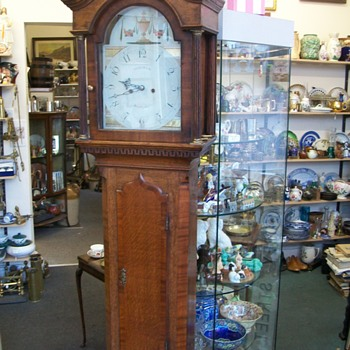 Dickinson Grandfather Clock circa 1790