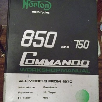 1973 Norton Villiers Ltd 850 and 750 Commando Workshop Manual
