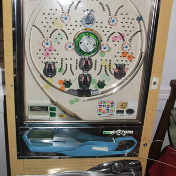 Nishijin Pachinko Machine - Coin Operated