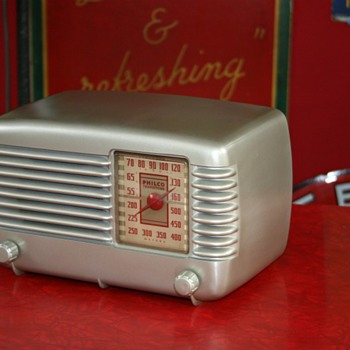 philco transitone radio - Radios