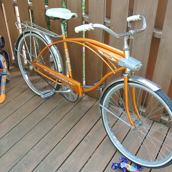 Original 1971 Columbia Gold Bicycle - Sporting Goods
