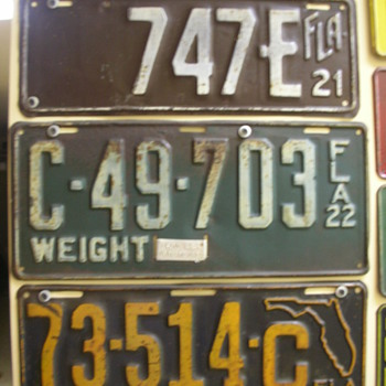 Some of my favorite license plates.