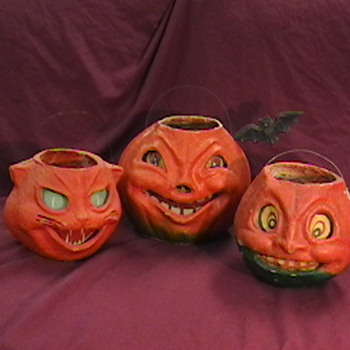 Vintage Halloween Lanterns - Advertising