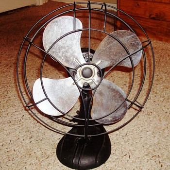 1940's FA Smith Company Electric Fan