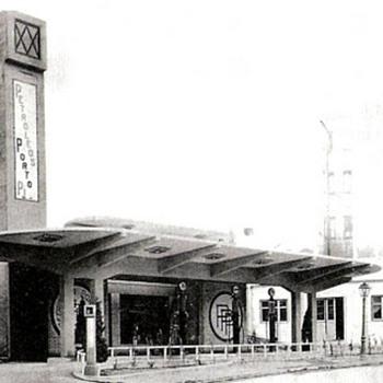 Gasolinera Porto Pí -now Gesa-, Madrid (Casto Fernández-Shaw, 1927) - Petroliana