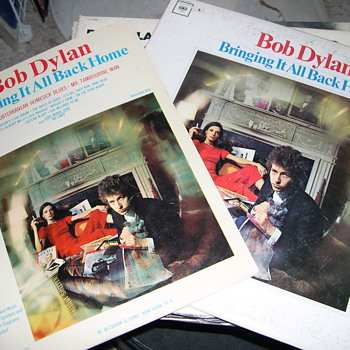 IF YOU ARE A BOB DYLAN FAN WELL HERE PART 2! - Records