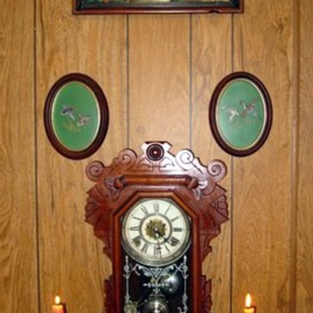 "My c. 1891 Waterbury ""Huntley"" Model Parlor Clock - Clocks"