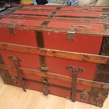 A.W. Dethloff & Co Dresser or Theatrical Trunk