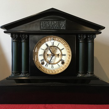 Ansonia Clock Co. New York Mantle Clock - Clocks