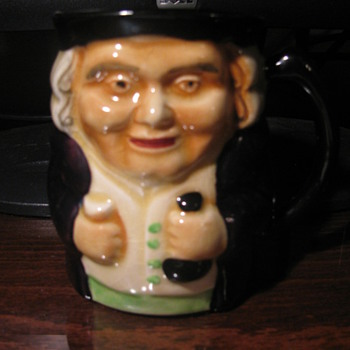 """RICH MERCHANT"" Toby Mug made by Staffordshire-- Shorter & Son LTD. - Art Pottery"