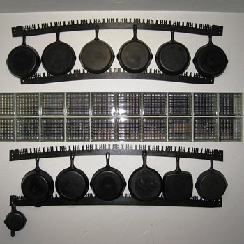 Pot Rack from Two-man Saws