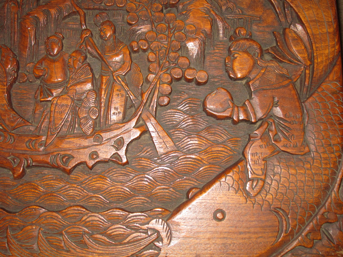 Cedar Chest Asian Carving Collectors Weekly