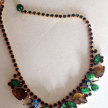 Weiss Necklace found at rummage sale! - Costume Jewelry