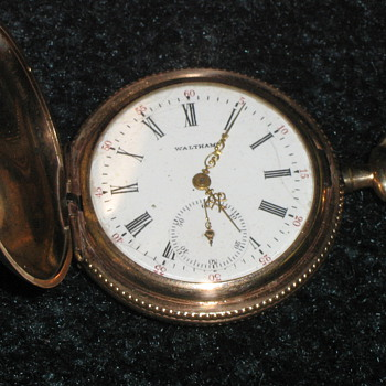 American Waltham Watch Co. Hunting Case Pocket Watch - Pocket Watches
