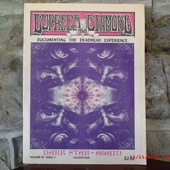 From my Grateful Dead Collection Dupree's Diamond News December 1989