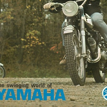 1967 - Yamaha Motorcycles Sales Brochure