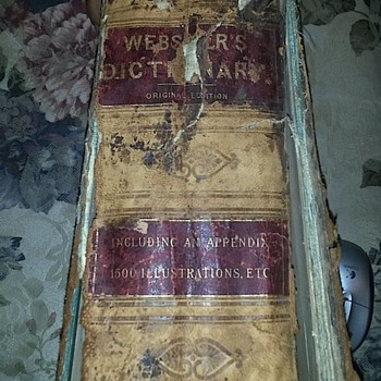 Webster's Original Edition Dictionary - Books
