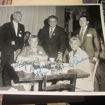 Thomas Laverne signed picture - Photographs