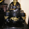 Buddha gramophone made in the UK plays 78 rpm records