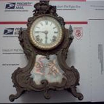ANSONIA &quot;TRIANON&quot; MANTEL CLOCK