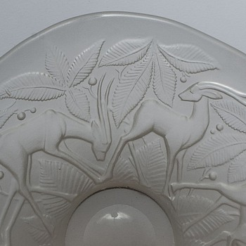 engraved frosted bowl? - Art Glass