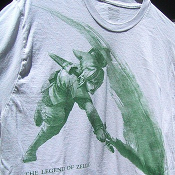 Zelda t-shirt from 2010 E3
