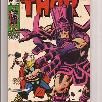 Galactus & Thor by Jack the King Kirby