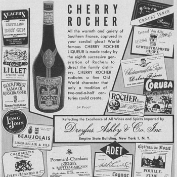 1954 Cherry Rocher Advertisement - Advertising