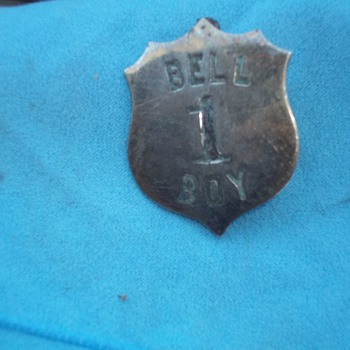 BELL BOY BADGE