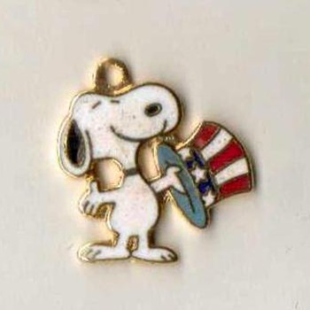 "Bicentennial ""Snoopy"" Charm"