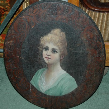 Victorian painting - Folk Art