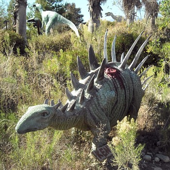 Cabazon Dinosaurs Part 3 - Animals