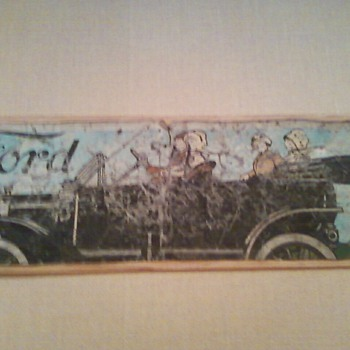 Ford Model T Sign - Signs