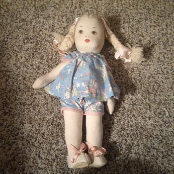 Marploe Infirmary Handicraft doll