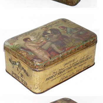 sweet bouquet  tobacco tin b houde quebec 
